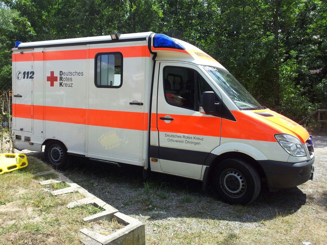 Rettungswagen Ortsverein